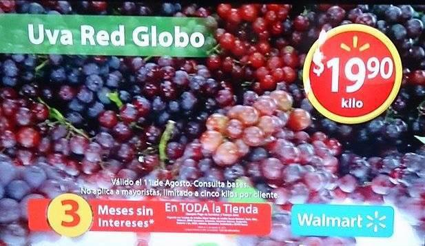 Walmart: Martes de Frescura 11 de Agosto