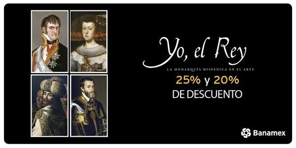 Museo Nacional de Arte: 25% de descuento en catálogo de Arte Yo, el Rey pagando con Tarjetas Banamex