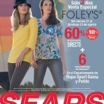 dias especiales foleys en sears