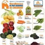frutas y verduras chedraui 11 y 12 de agosto