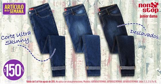 Suburbia: Artículo de la Semana Jeans para Junior Dama del 3 al 9 de Agosto