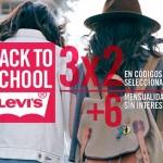 levis 3x2 en codigos seleccionados