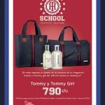 regalo maleta al comprar perfume tommy en sears