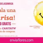 semana de la sonrisa envia flores globo gratis
