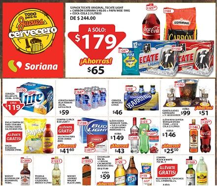 Soriana: Jueves Cervecero 6 de Agosto