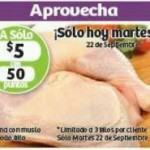 Soriana Hiper Pierna de Pollo