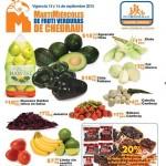 chedraui martes y miercoles de frutas y verduras 15 y 16 de sptiembre OFFDE