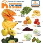 chedraui martes y miercoles de frutas y verduras 22 y 23 de sept