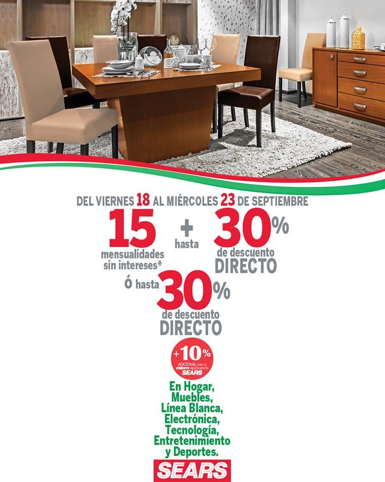Sears 15 meses sin intereses m s hasta 30 de descuento - Electronica del hogar ...