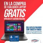 famsa gratis impresora y audifonos en la compra de laptop OFFDE