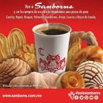 sanborns te regala una pieza de pan en la compra de cafe OFFDE