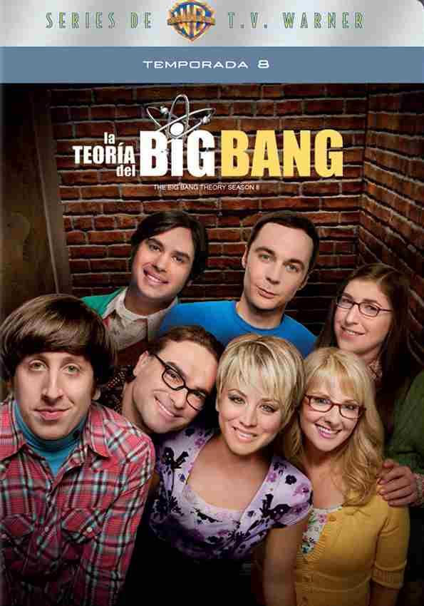 """Blockbuster: Serie """"The Big Bang Theory"""" temporada 8 a $160 con envío gratis"""