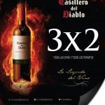 3x2 en casillero del diablo