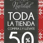 50 de descuento en segunda compra en articulos de navidad OFFDE