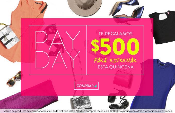 Dafiti: $500 de descuento con compra mínima de $2,000 al 5 de Octubre