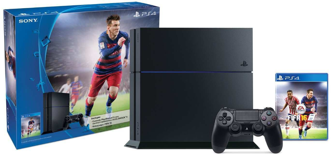 Amazon: Oferta Buen Fin 2015 Play Station 4 FIFA 16 a $5,999