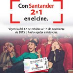 Cinemex 2x1 santander OFFDE
