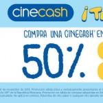 Cinepolis cinecash palomitas OFFDE