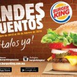 Cuponera Burger King oct feb