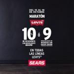 Sears maratón levis del 15 al 19 de oct