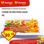 Soriana Carne Asar 16 oct OFFDE