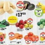 Soriana Frutas y verduras 13 oct
