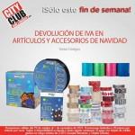 city club devolucion de iva en productos de navidad al 1 de nov OFFDE