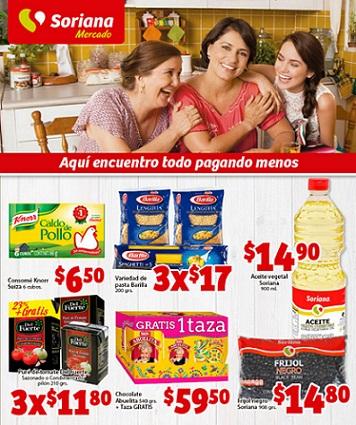 Soriana Mercado: Folleto de Promociones del 23 de Octubre al 5 de Noviembre
