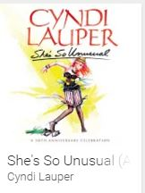 "Google Play: Gratis álbum ""She´s So Unusual"" de Cindy Lauper y más"