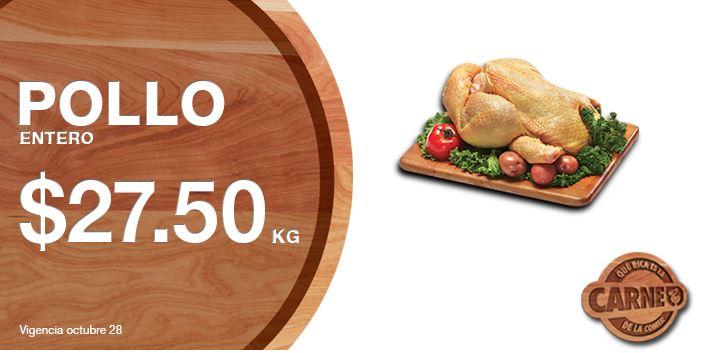 La Comer: Martes y Miércoles de Carnes 27 y 28 de Octubre