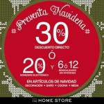 preventa navideña en the home store del 19 al 28 de oct OFFDE