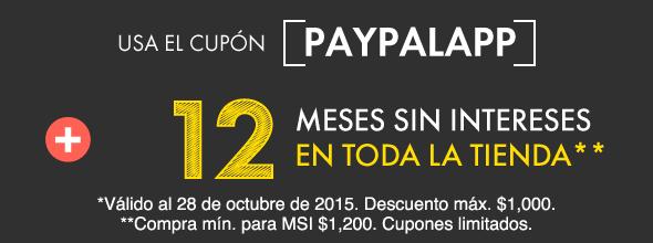 Linio: 10% de descuento adicional en toda la tienda y hasta 12 meses sin intereses con PayPal