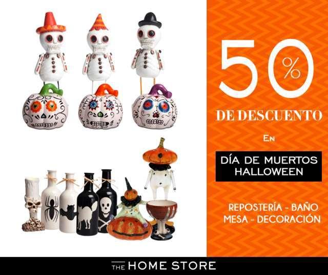 The Home Store: 50% de descuento en artículos de Día de muertos y Halloween