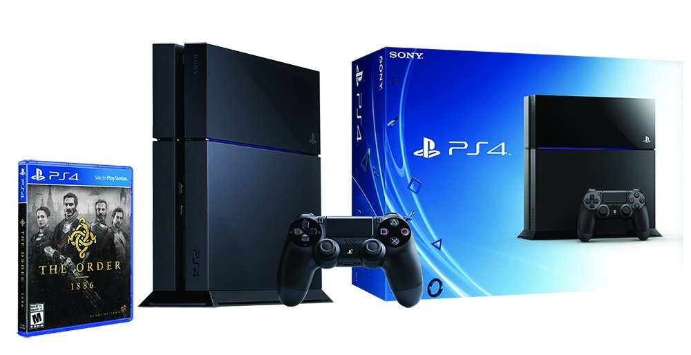 Amazon: Consola PlayStation 4 500Gb + The Order 1886 – Bundle Limited Edition a $5,799