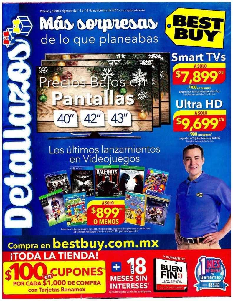 Best Buy: Folleto de Ofertas del Buen Fin 2015
