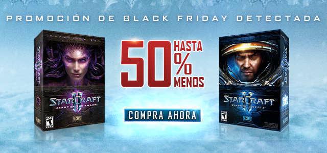 Black Friday Battle.Net: Juegos Hasta 70% de Descuento Star Craft 2, Warcraft y Más