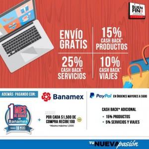 Clickonero: Promociones del Buen Fin 2015 Hasta 25% en Cashback y Más