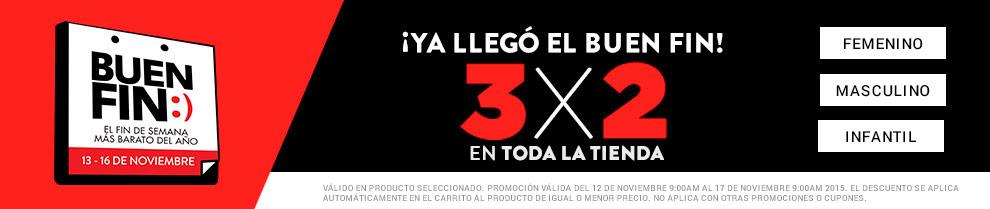 Dafiti: Promociones del Buen Fin 2015 Envío Gratis y 3×2 en Toda la Tienda