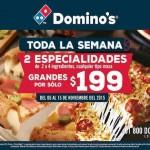 Dominoz pizza buen fin OFFDE