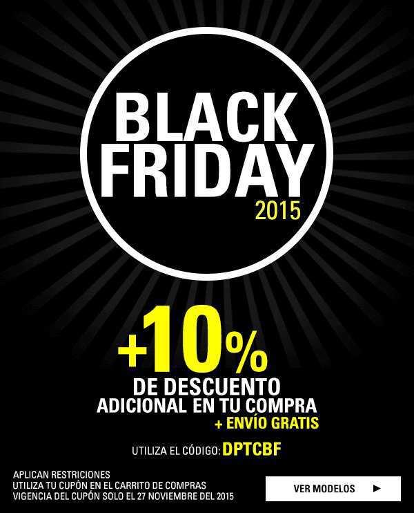 Black Friday: Dportenis Hasta 30% de descuento más 10% adicional más envío gratis
