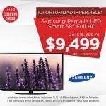 Elektra Pantalla Samsung 58 OFFDE