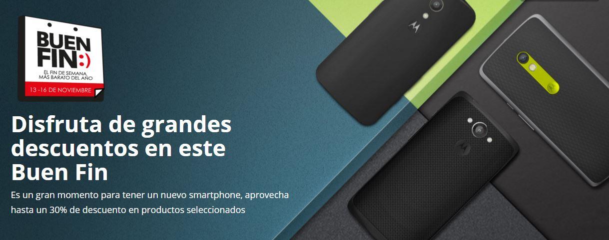 Motorola: Promociones del Buen Fin 2015 Tienda en Linea