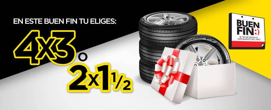 Pirelli: Promociones del Buen Fin 2015 4×3 en Llantas Rin 15