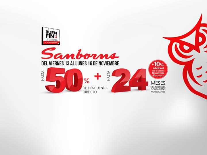 Sanborns: Promociones Generales del Buen Fin 2015