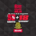 Sears Venta de Etiqueta Roja 25 nov OFFDE