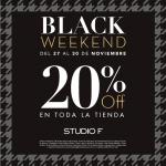 Studio F Black Friday