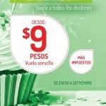 Vivaaerobus 9 pesos OFFDE