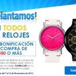 Walmart Buen Fin relojes