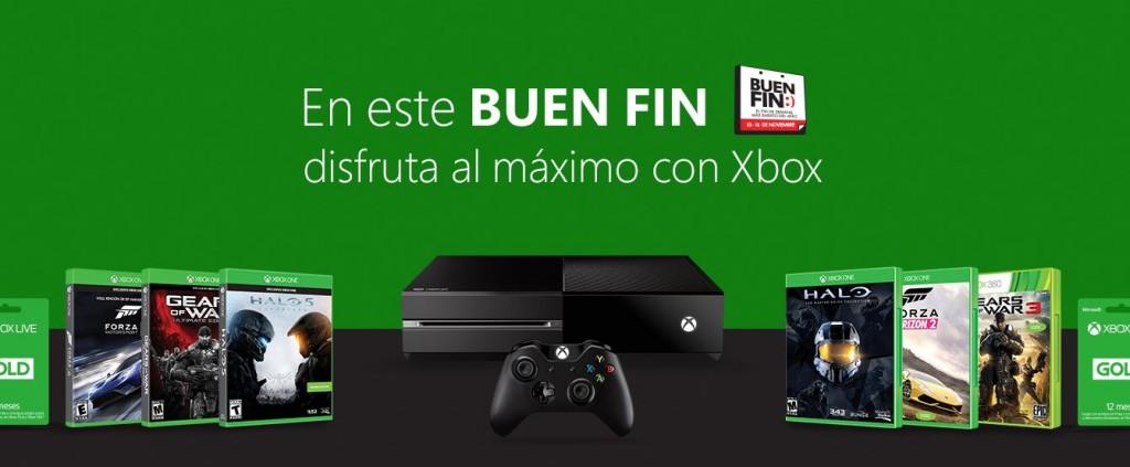 Promociones del Buen Fin 2015 en Productos Xbox