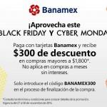 amazon 300 de descuento con Banamex OFFDE